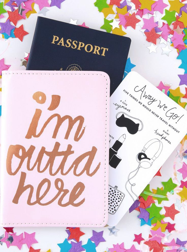 Look Like A Fancy Jet-Setter With These Passport Covers+#refinery29