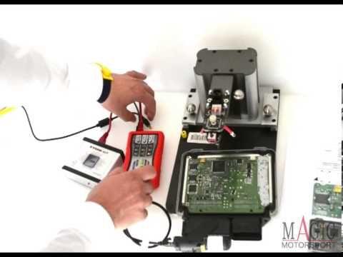 Audi Q5 2.0TDI MY2012 (EDC17C46 TPROT10) - bootloader & OBD tuning by MAGPro2 X17 - YouTube