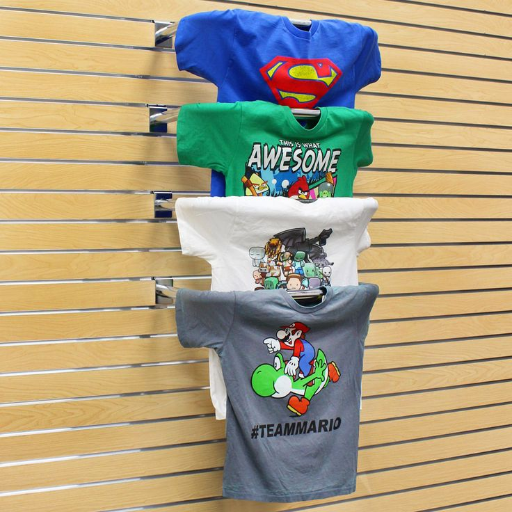 Chrome T Shirt Display For Slatwall | Specialty Store Services