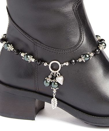 Love this Black Crystal boot anklet 17.00                                                                                                                                                                                 More