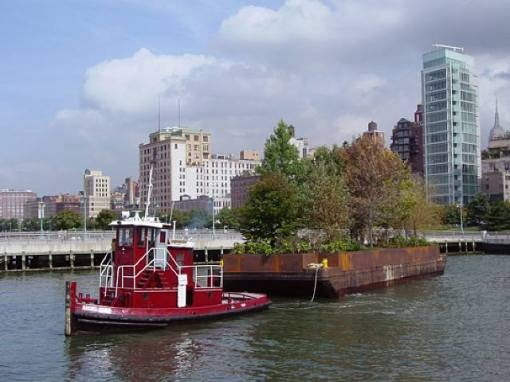 tug and barge! Robert Smithson, NYConceptual Art, Islands 2008, Floating Architecture, Floating Islands, Originals Ideas, Manhattan Islands, Robert Smithson, Public Art, Art Projects
