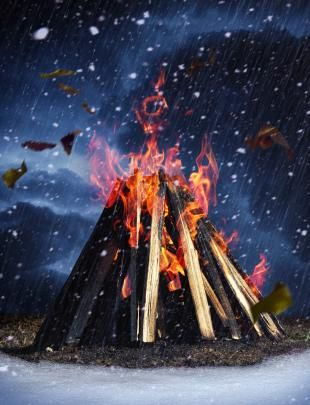 Build A Bad-Weather Fire