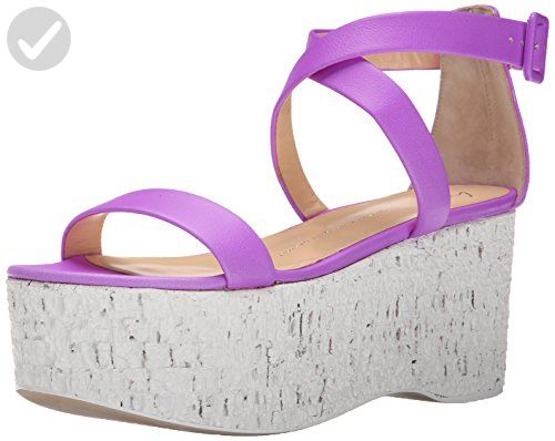 Giuseppe Zanotti Women's E60074 Heeled Sandal, Violet, 6.5 UK/6.5 M US -