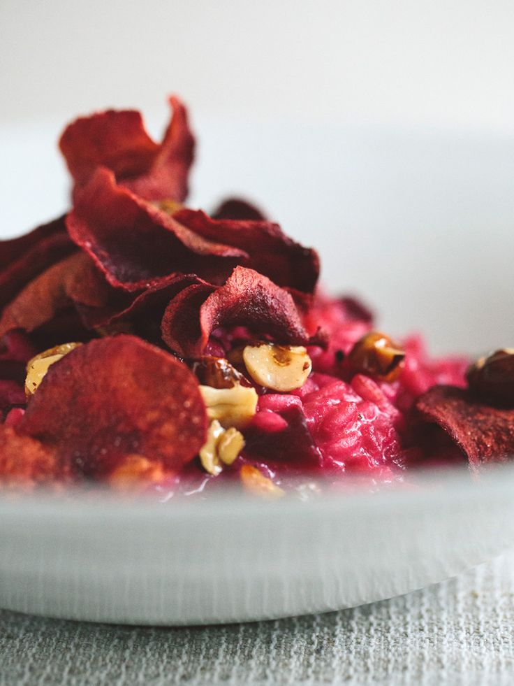 Red Beet Risotto Recipe
