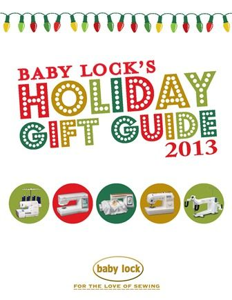 Baby Lock Holiday Happenings Gift Guide