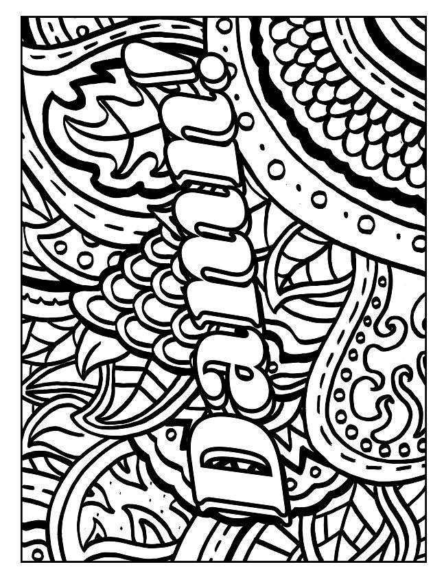 611 best Swear Word Coloring Pages