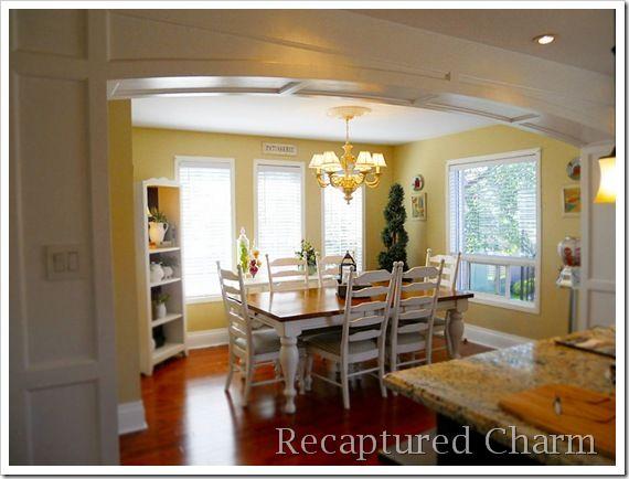 Recaptured Charm House: kitchen archway