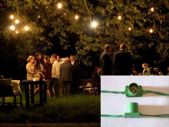 aka. cordão de lâmpadas. perfeito para comemorar o bom tempo com @s amig@s do lado de fora. são 15 metros com 15 soquetes. lâmpadas não inclusas. Código: 1949248