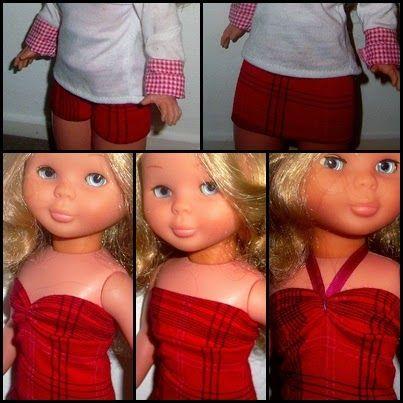 Hoy les traigo un tutorial de ropa muy util para ustedes, con el creas todo un fondo de armario para tu muñeca, y solo te hace fa...
