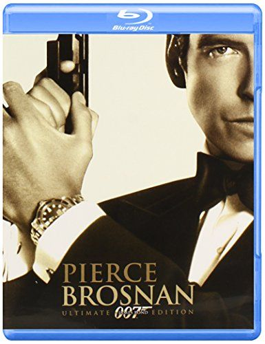 Pierce Brosnan 007 Collection (Goldeneye / The World is Not Enough / Die Another Day) (Ultimate Edit @ niftywarehouse.com #NiftyWarehouse #Bond #JamesBond #Movies #Books #Spy #SecretAgent #007