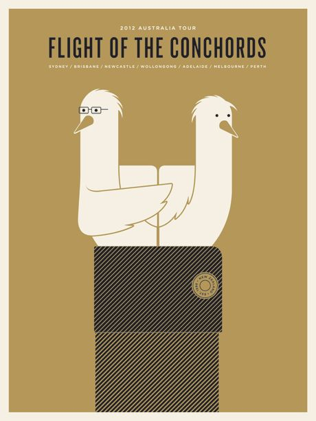 flight of the conchords posters
