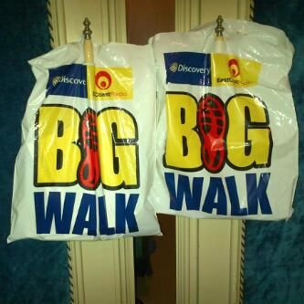 #bigwalkdurban All set for the Big Walk today. More pics to follow