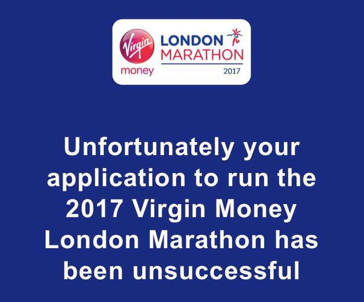 So last May I entered the ballot for the London Marathon… On the 12th October I received an email to confirm that I didn't get a place.  As my half marathon training wasn't g…