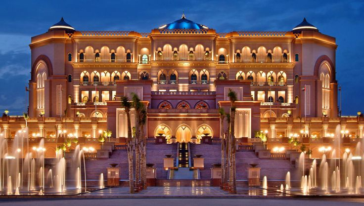 The reason why oil prices are so high, but I still want to go. Emirates Palace Abu Dhabi, UAE by WATG « Awesome Architecture