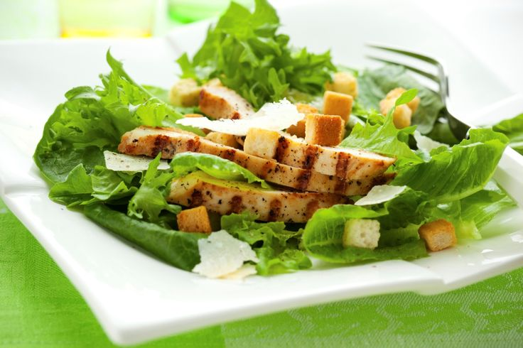 Delicious Chicken Caesar Salad