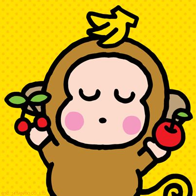 #Monkichi loves bananas - he can eat 10 in one minute!