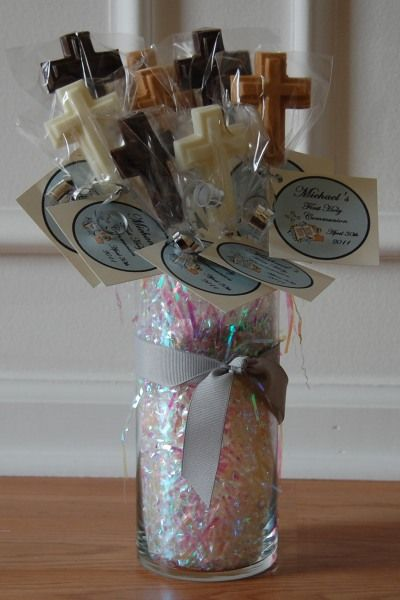 Candy Centerpieces For Communion : Best ideas about communion centerpieces on pinterest