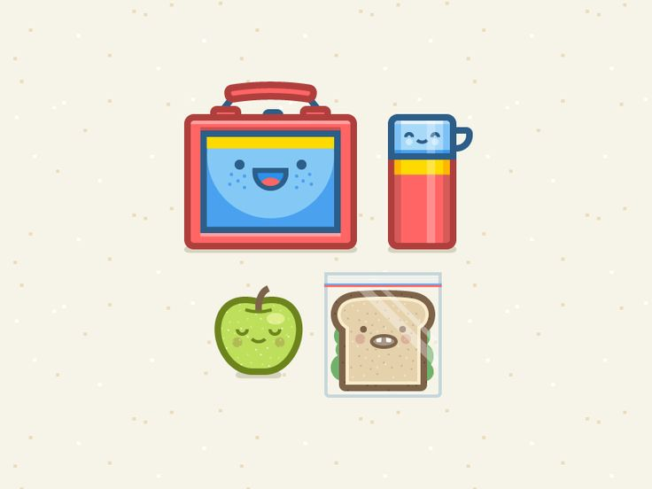 Lunchbox Crew by Ryan Putnam for Dropbox