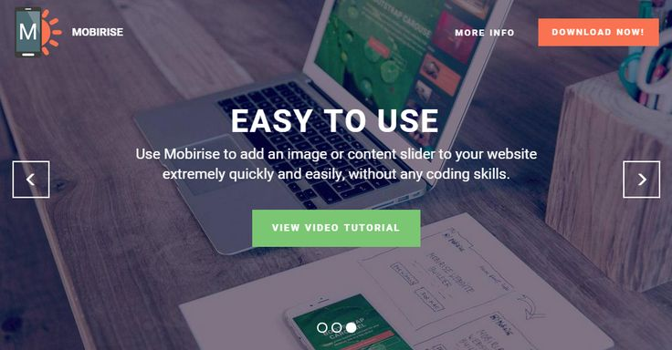 Mobirise/Mobirise Free Website Builder for Bootstrap 4 by @Mobirise
