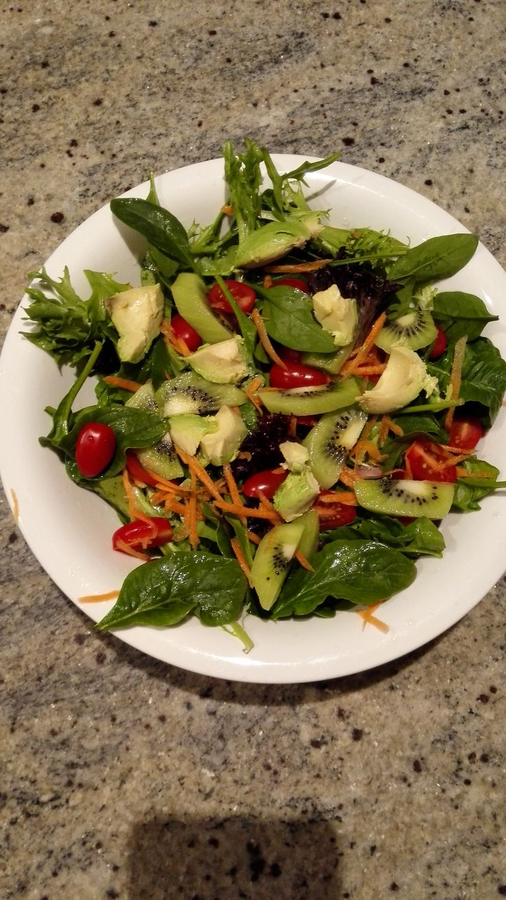 Fresh salad always refreshing! :-)