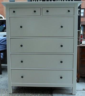 Ikea Hemnes dresser repainted