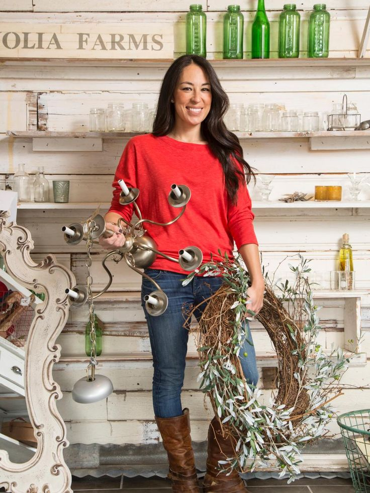 """Where does Joanna Gaines, co-host of HGTV's Fixer Upper, find all the great pieces she uses in her farmhouse and in her shop? """"Off-the-beaten-path antique stores and flea markets,"""" she says. """"My favorite thing to do is hunt for really cool pieces to sell or repurpose and use in my home."""""""