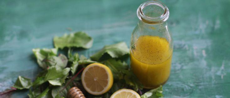 ... Oil, Lemon Honey, Honey Salad, Honey Lemon, Simple Lemon, Salad