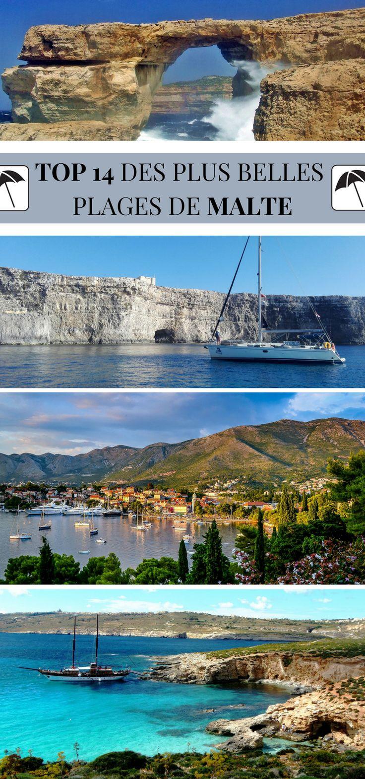 Malte ? Une magnifique île méditerranéenne, colorée et envoûtante. Où se baigner ? Malgré sa petite taille, l'île est surtout composée de falaises. Nous vous livrons notre TOP 14 ! #Malte #Plage #Topplages #Voyage