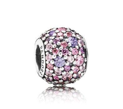 Pandora Pink Sparkles Pavé Ball Charm