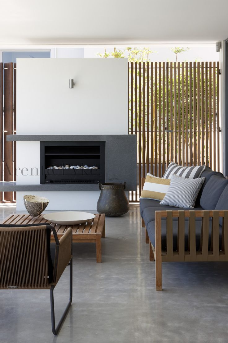 Outdoor area by #arentpyke photography by Jason Busch