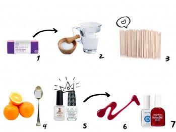 ¡Ya no hay pretextos! Checa estos 7 sencillos pasos para hacer tu propio manicure en casa.
