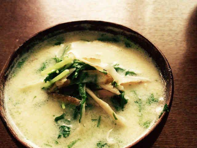 ごぼうのデトックススープの画像