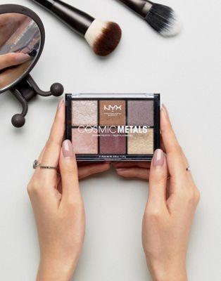 NYX Professional Makeup - Palette cosmétique de fard à paupières métallisés