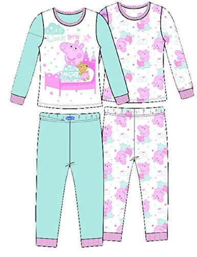 98d516f0e1 Peppa Pig Toddler Girls 4 pc Pajama Set Sleepwear - Story time Twinkle  Twinkle Little Star