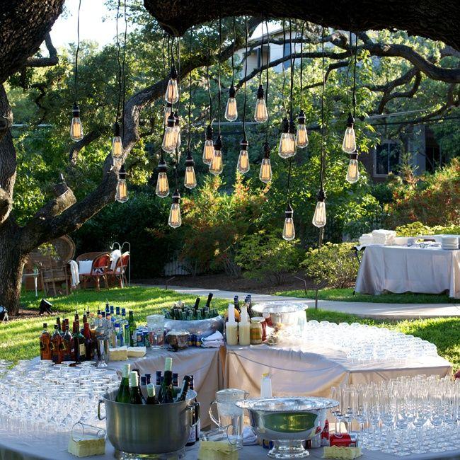 16 best Outdoor Wedding Lights We Love images on Pinterest ...