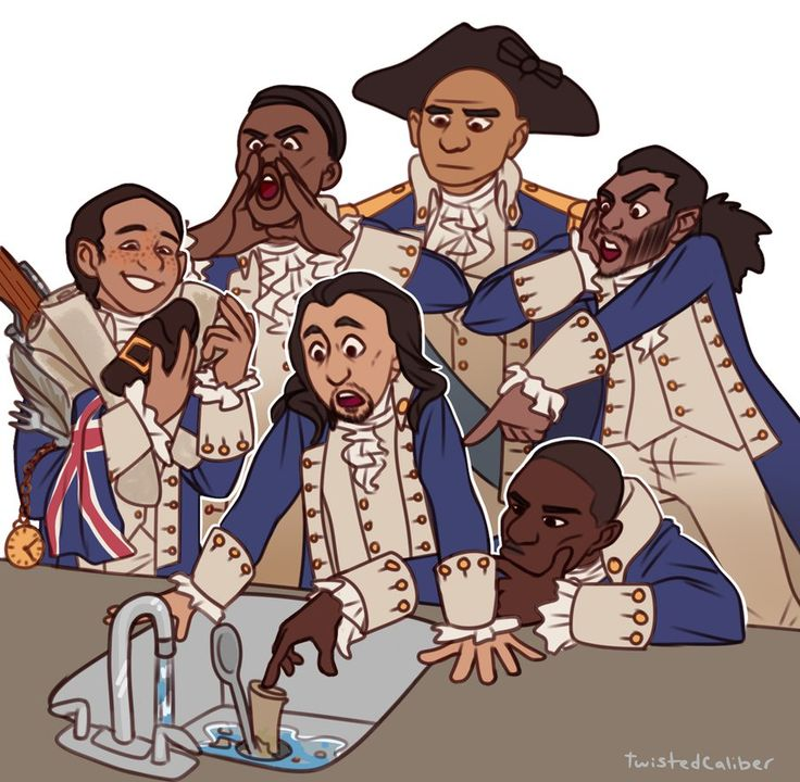 """If The Founding Fathers Were Alive Today, They'd Be Too Fascinated By A Garbage Disposal To Do Anything""  (Alexander Hamilton and the garbage disposal)"