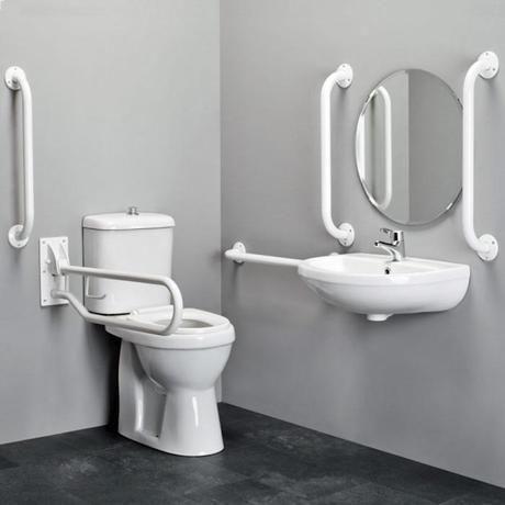 Modernos baños para discapacitados                                                                                                                                                                                 Más