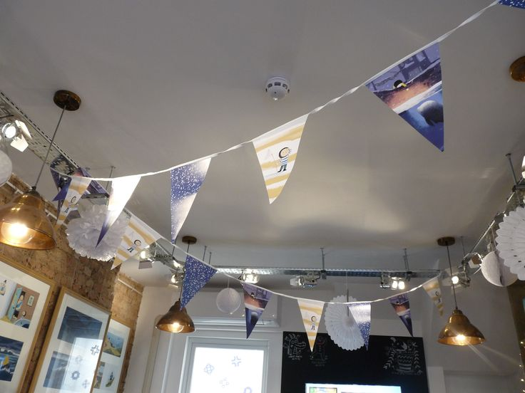 Noi bunting just for the exhibtion