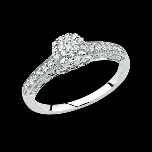 1/4 CARAT TW DIAMOND RING