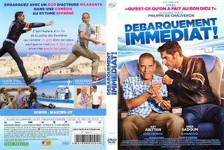 JAQUETTE DVD: jaquette dvd Débarquement Immédiat