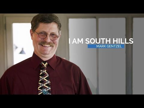 """""""I Am South Hills"""" – Mark Gentzel is a general education instructor at the South Hills main campus in State College. In 2015, he was named Outstanding Educator of the Year by the Pennsylvania Association of Private School Administrators (PAPSA). Learn a little bit more about his passion for teaching and his unexpected hobbies in our second installment of the """"I Am South Hills"""" video series."""