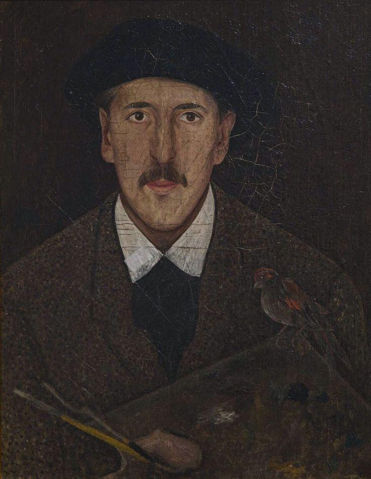 Filozof wśród malarzy – Tadeusz Makowski  Tadeusz Makowski Autoportret | 1917-1921, Muzeum Narodowe w Krakowie