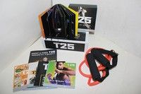 Wish | FOCUS T25 WORKOUT slimming exercise for 25 minutes a day with pull rope 10DVD
