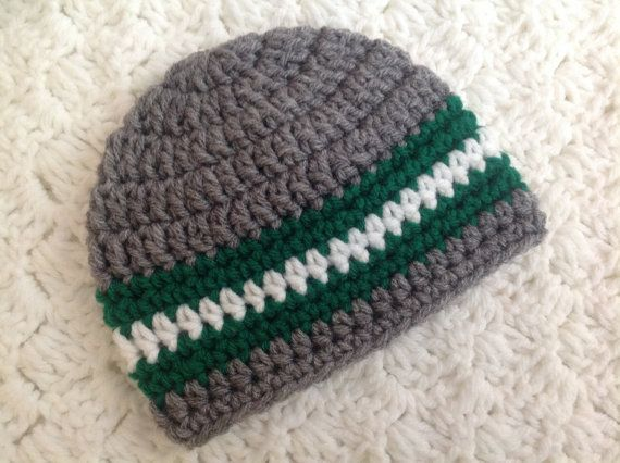 St. Patrick's Day Crochet Hat Boys or Girls by Chinguliscreations