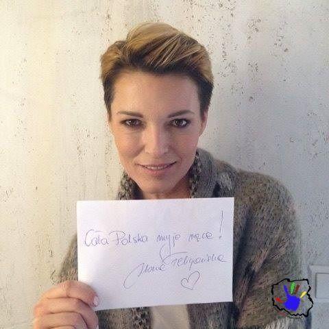 Ilona Felicjańska również przyłączyła się do naszej akcji! ;)