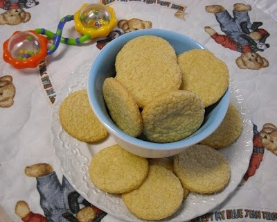 Homemade baby teething cookies from Mommy's Kitchen
