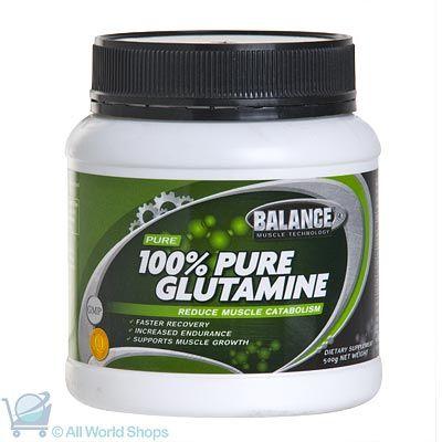 100% Pure L-Glutamine - 500g Powder | Shop New Zealand NZ$ 109.90