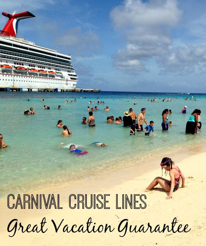 Carnival Cruise Lines Renews Their Great Vacation Guarantee For 2015! Now is the time to take that first cruise - what do you have to lose?