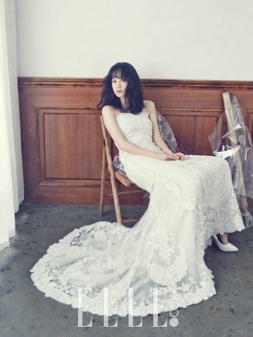 김무열, 윤승아는 웨딩 촬영 현장 | 엘르코리아(ELLE KOREA)