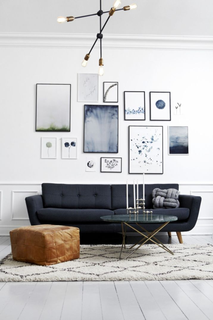 51 Stunning Living Room Wall Gallery Design Ideas Roundecor Gallery Wall Living Room Minimalist Living Room Decor Scandinavian Decor Living Room